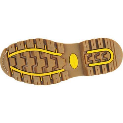 Men's Roadmate Boot Co. Gravel 6in Steel Toe Shock Absorbing Work Boot Honey Nubuck