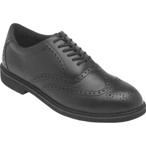 Men's Rockport Works Chrisfield ST Black Leather