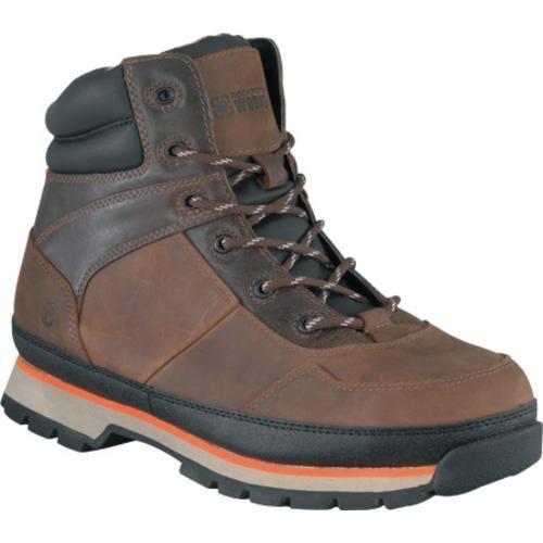 Men's Rockport Works RK6120 Brown Leather