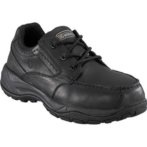 Men's Rockport Works RK6747 Black Full Grain Leather