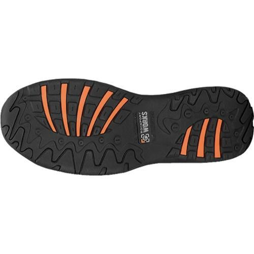 Men's Rockport Works RK6747 Black Full Grain Leather - Thumbnail 1