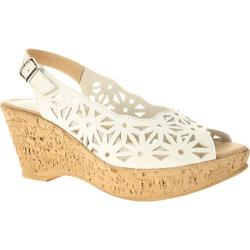 Women's Spring Step Abigail White Leather (3 options available)