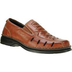 Men's Spring Step Alex Medium Brown Leather