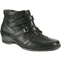 Women's Spring Step Allegra Black Leather