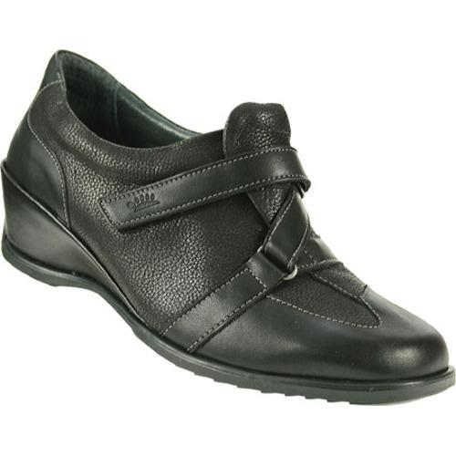 Women's Spring Step Avalon Black Leather