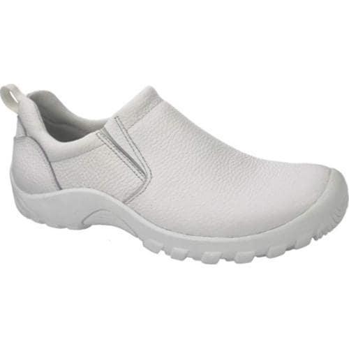 Men's Spring Step Beckham White Leather