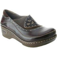 Women's Spring Step Burbank Brown Leather