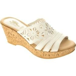 Women's Spring Step Dora 2 White Leather