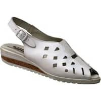 Women's Spring Step Dublita White Leather