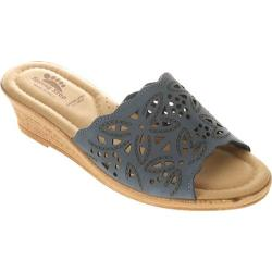 Women's Spring Step Estella Blue Nubuck
