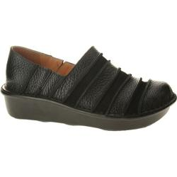 Women's Spring Step Firefly Black Combo Leather