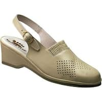 Women's Spring Step Gina Beige Leather