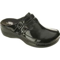 Women's Spring Step Happy Black Patent Leather