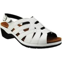Women's Spring Step Kaylana White Leather