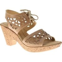 Women's Spring Step Lamay Beige Leather