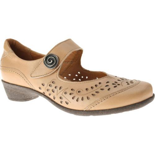 Women's Spring Step Music Natural Leather