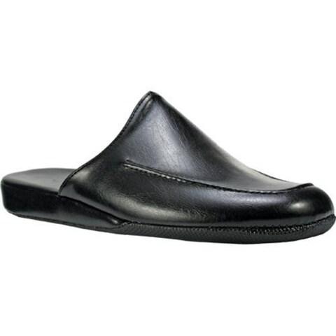 Men's Spring Step Nigel Black Leather