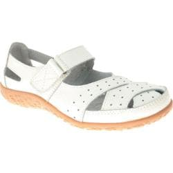 Women's Spring Step Streetwise White Leather