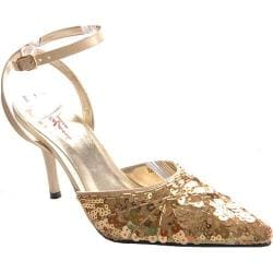 Women's Stefani Nancy II Gold Sequin