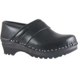 Women's Troentorp Bastad Clogs 5 Star Professional Black