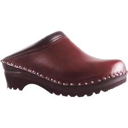 Men's Troentorp Bastad Clogs Monet Black Cherry