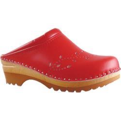 Women's Troentorp Bastad Clogs O' Keefe Red