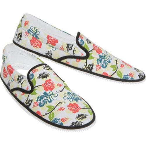 Zipz Dragon Rose Zip-On Covers Multicolored