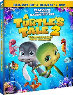 A Turtle's Tale 2 3D: Sammy's Escape From Paradise (Blu-ray/DVD)