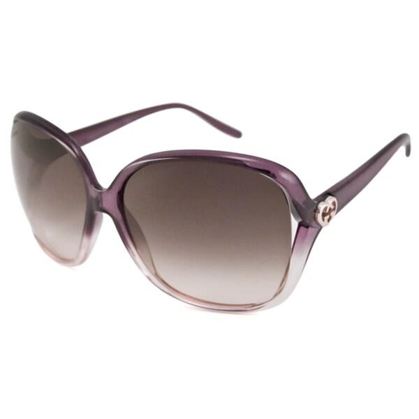 Gucci Women's GG3500 Rectangular Sunglasses