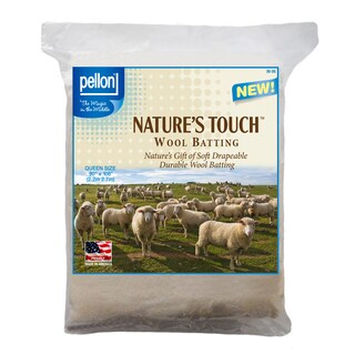 Pellon Queen-size Natures Touch 90 x 108-inch Wool Batting