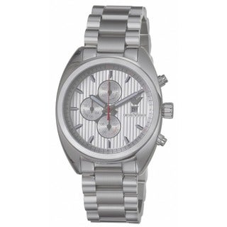 Emporio Armani Men's Stainless Steel Chronograph Watch - WHITE