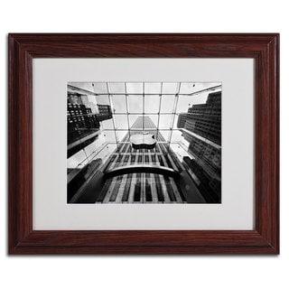 Nina Papiorek 'NYC Big Apple II' Framed Matted Art