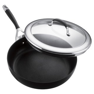 Circulon Elite Hard Anodized 12-inch Covered Deep Skillet