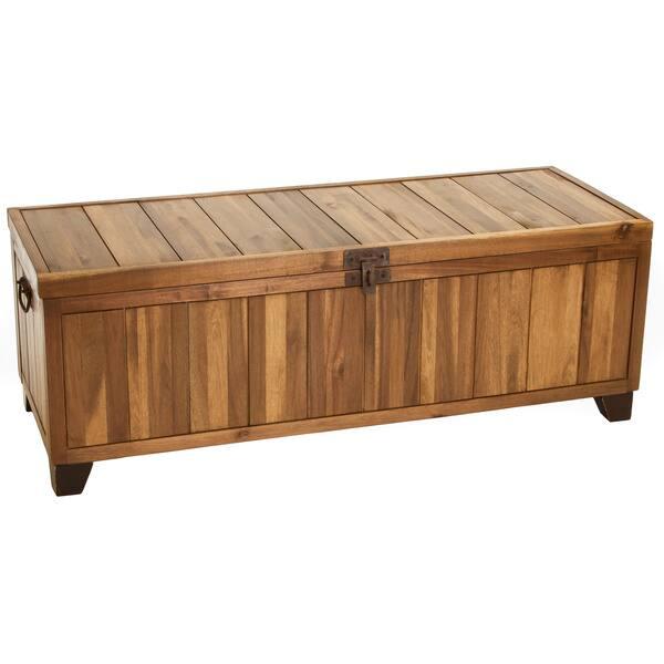 Fabulous Shop Jada Wood Storage Ottoman Bench By Christopher Knight Machost Co Dining Chair Design Ideas Machostcouk