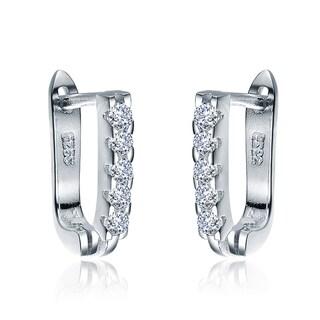 Collette Z Sterling Silver Cubic Zirconia endless Earrings