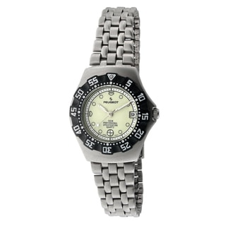 Peugeot Women's Silvertone Sport Bracelet Watch