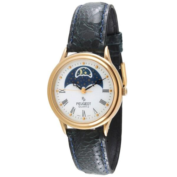 Peugeot Men's Decorative Moon Watch