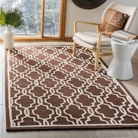 Safavieh Handmade Moroccan Cambridge Light Blue Wool Rug - 8' x 10'