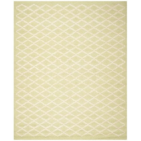 Durable Safavieh Handmade Cambridge Moroccan Light Green Wool Rug (6' x 9') - 6' x 9'