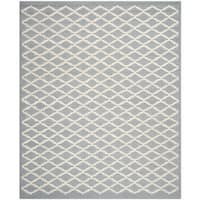 Safavieh Handmade Cambridge Moroccan Silver Latex Wool Rug (8' x 10')