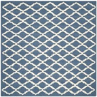 Modern Safavieh Handmade Cambridge Moroccan Navy Wool Rug - 6' Square