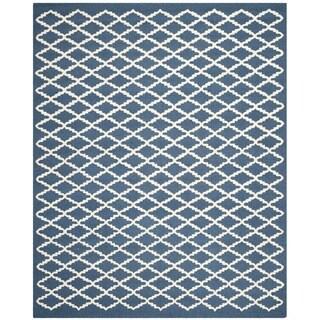 Safavieh Handmade Cambridge Moroccan Oriental Navy Wool Rug (8' x 10')