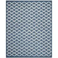 Safavieh Handmade Cambridge Moroccan Oriental Navy Wool Rug - 8' x 10'