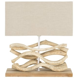Safavieh Lighting 16-inch Mara Bleached Wood Vine Lamp
