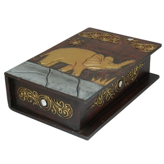 10-Inch Elephant Book Style Box (Indonesia)