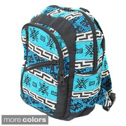 Handmade Andean Voyager Artisan Full-size Carry-on Backpack (Ecuador)