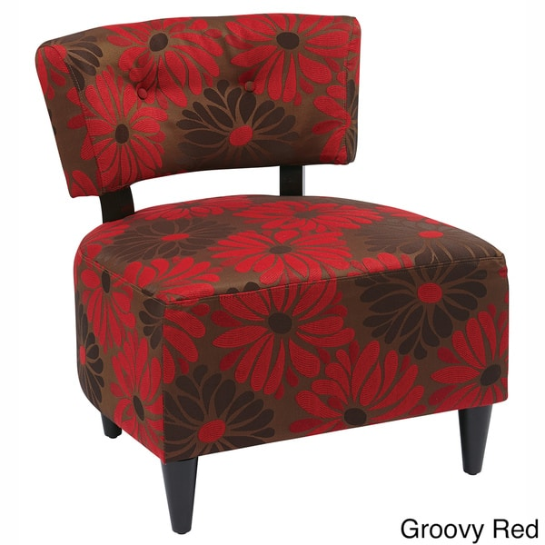 Marvelous Boulevard Print Accent Chair Inzonedesignstudio Interior Chair Design Inzonedesignstudiocom