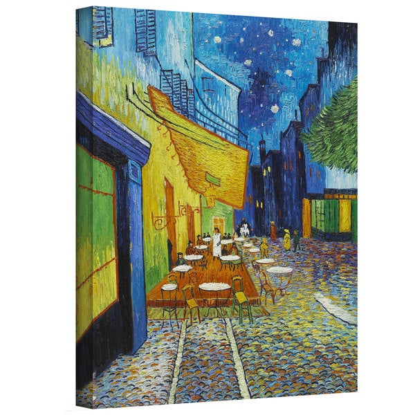 Vincent van Gogh 'Cafe Terrace' Gallery-wrapped Canvas