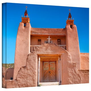 Steve Ainsworth 'Gate to San Jose De Garci' Gallery-Wrapped Canvas