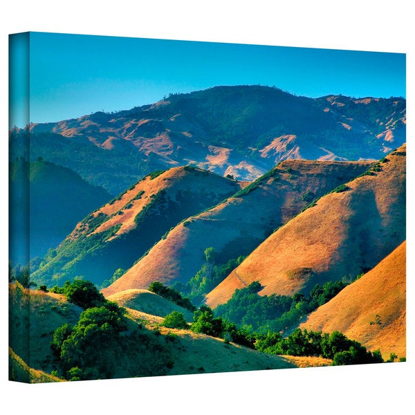 Steve Ainsworth 'Golden Hills' Gallery-Wrapped Canvas - Multi